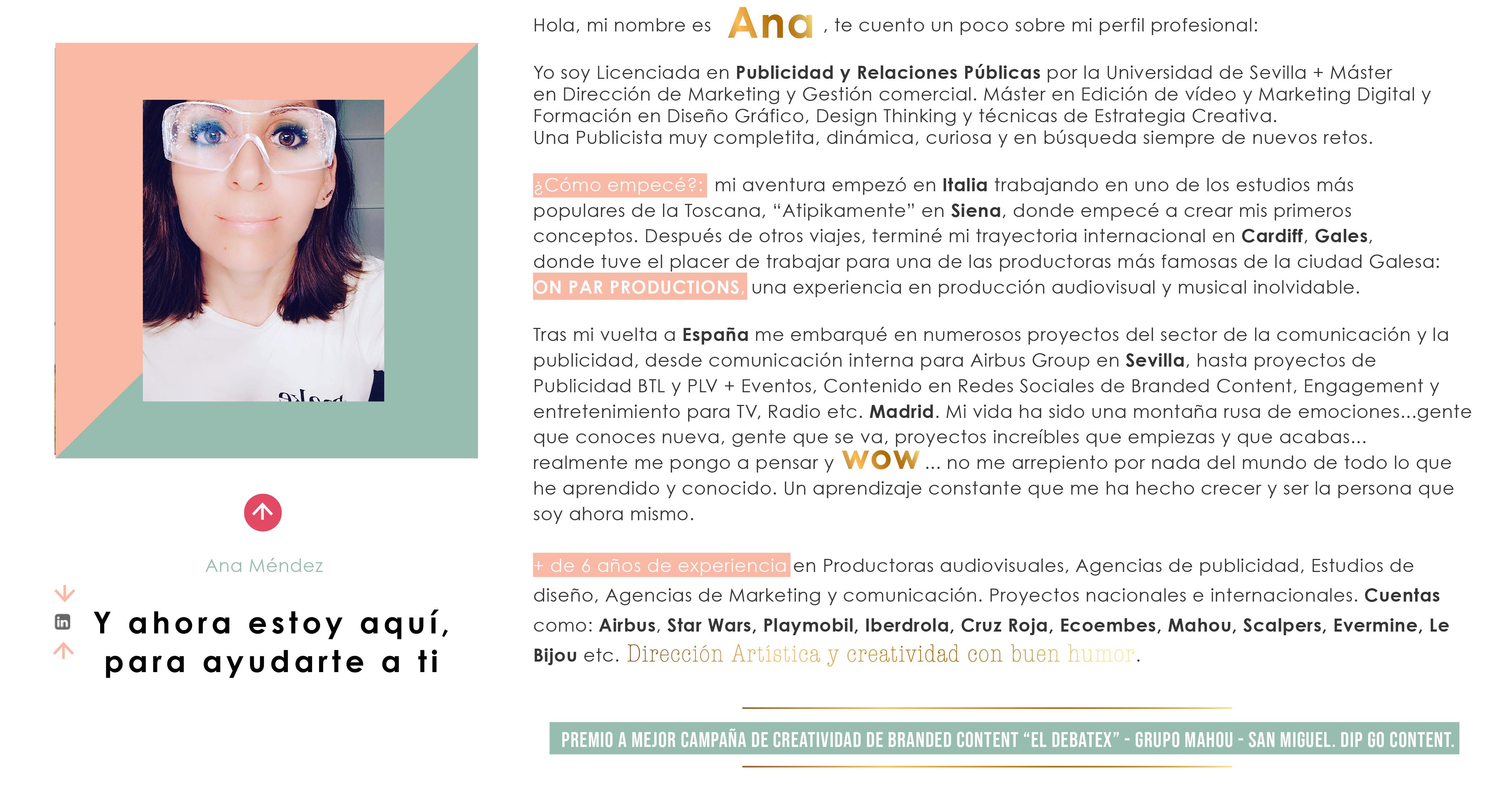 Ana Méndez_estratega creativa publicitaria